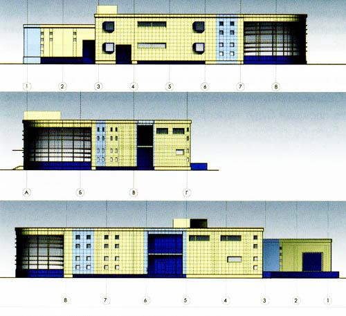 7. Фасады (вариант 2).
