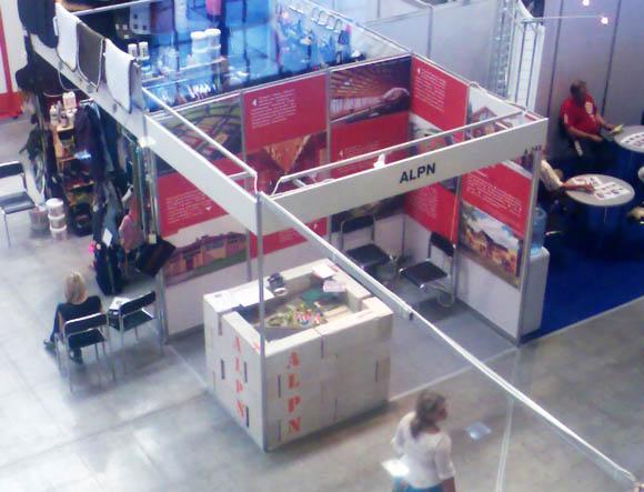 Стенд ALPN на выставке