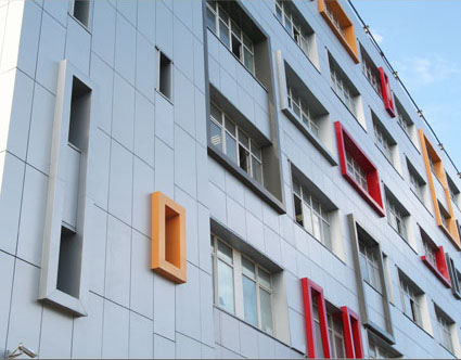 Проект ALPN - Реконструкция фасадов офисного здания
