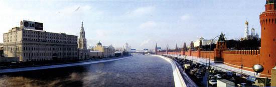Вид на Москва-реку с Каменного моста