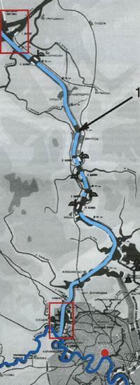 """Создание канала Москва-Волга в 1937г. Москва-река - """"голубой проспект города"""""""