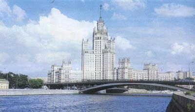 Высотное здание на Котельнической на бережной
