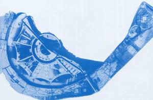 К. Мельников. Планировка центрального парка культуры и отдыха в Москве. Конкурсный проект, 1931г.