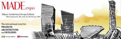 <br>14 января 2010 года в Зале заседаний Союза архитекторов России   по адресу: Гранатный пер., д.12 презентация Международной Миланской выставки MADE expo, RHO 2010<br><br>Российско-итальянская компания ООО «3ИНТ-инжиниринг» при поддержке агентства Союза архитекторов России под патронатом Ассоциации предприятий мебельной и деревообрабатывающей промышленности Италии, Международной Выставочной компании MADE expo Италии приглашает на презентацию Международной Миланской выставки MADE expo, RHO 2010, которая состоится 3-6 февраля 2010 года.<br><br>Выставка MADE expo - это крупнейшая международная выставка в Милане, посвященная архитектуре, строительству и новым строительным технологиям, в основе которых лежит опыт выставок SaieDue и Europolis. Это единственная выставка, посвященная строительной области в Европе в 2010 году, на которой можно найти все необходимое для создания архитектурных и строительных шедевров.<br><br>В рамках презентации были освещены следующие аспекты:<br>§ Ознакомление с программой предстоящей выставки;<br>§ Краткий анонс последних технологических и дизайнерских новинок в деревообрабатывающей промышленности и мебельном дизайне.<br>Вечер завершится фуршетом в итальянском стиле. <br><br>В презентации приняли участие:<br>- организаторы выставки MADE expo, <br>- руководящий состав Союза архитекторов России,<br>- российские архитекторы и дизайнеры.<br><br>