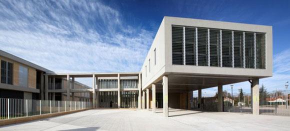 <br>Architects: <b>N+B Architectes / Elodie Nourrigat & Jacques Brion</b><br> Location: <b>Morieres Les Avignon, France</b><br> Project Manager:<b> Elodie Nourrigat & Jacques Brion</b><br> Client: Conseil General du Vaucluse<br> Project Area: <b>8,500 sqm</b><br> Budget: 13M?<br> Project Year: <b>2009</b><br> Photographs: <b>Paul Kozlowski</b><br><br>