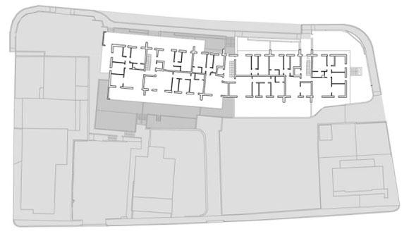 план третьего этажа жилого дома