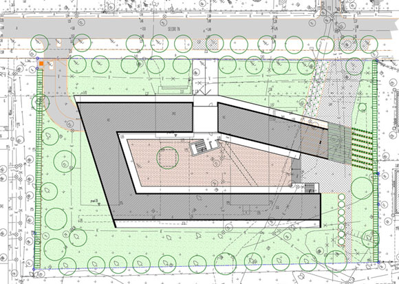 Guesthouse site plan
