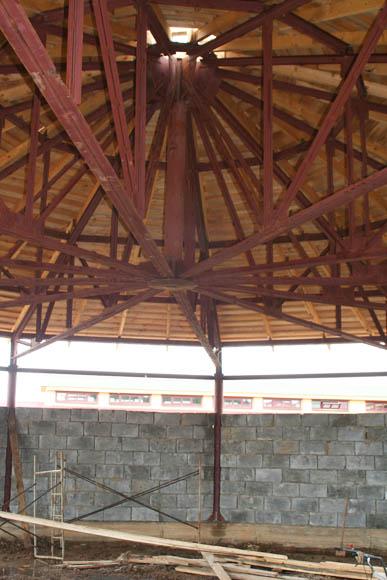 Бочка спроектирована и построена без центральной колонны