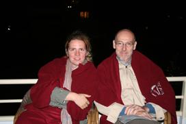 Полина Ноздрачёва и Daniel Treiber.