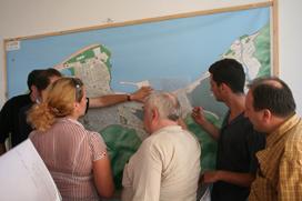 П.Ноздрачева, М.Гвасалия, Г.Гаручава и участники Workshop.
