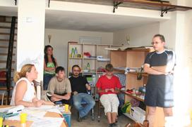 П.Ноздрачева дает рекомендации по дальнейшей работе над проектом.