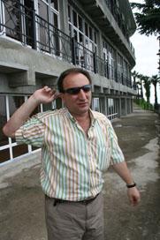 The main architect of Batumi Gocha Garuchava.