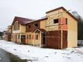 Фотографии со строительства гостиницы в КСК Эквиторус