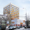 Reconstruction work on the facades of the building for administrative purposes on the st. Tkatskaya, 7