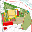 The project of planning of the area of the object in Moscow region, Shchelkovo district