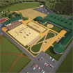 The project of planning area for equestrian sports center
