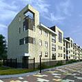 36 квартирный 3-этажный блокированный дом.Корпус-1 д.Рыбаки