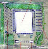 Планировочное решение строительства ледового дворца