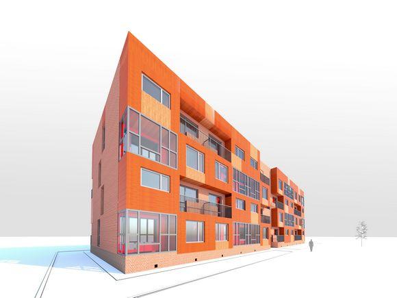 Индивидуальный модульный жилой дом.Линейного типа.