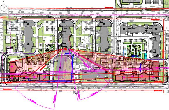"""<p>Плотность застройки обратно пропорционально зависит от необходимого времени инсоляции - чем меньше требуется инсоляция, тем больше плотность застройки. При  реконструкции и новом строетельстве, требуется соблюдений норм и правил по инсоляции зданий (СанПиН 2.2.1/2.1.1.1076-01 - """"Проектирование, строительство, реконструкция и эксплуатация предприятий, планировка и застройка населенных мест. Гигиенические требования к инсоляции и солнцезащите помещений жилых и общественных зданий и территорий."""").</p>"""