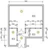 Рабочая документация на переустройство помещения под склад сухих продуктов № G4 BO37