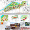 The tablet project planning of residential block for the Biennale Leonardo 2009 in Minsk