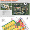 Tablet Project planning area in town village Povarovo for public hearings