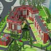 Генплан и благоустройство территории жилого комплекса в Красноармейске на ул. Чкалова