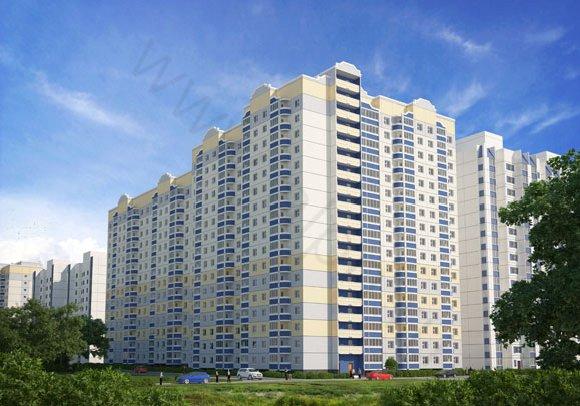 Визуализация жилого дома №2 в пос. Андреевка, Московская область, вид 2