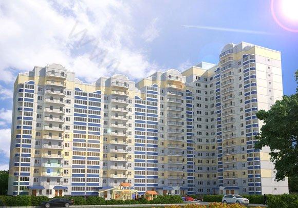 Визуализация жилого дома №7 в пос. Андреевка, Московская область, вид 1