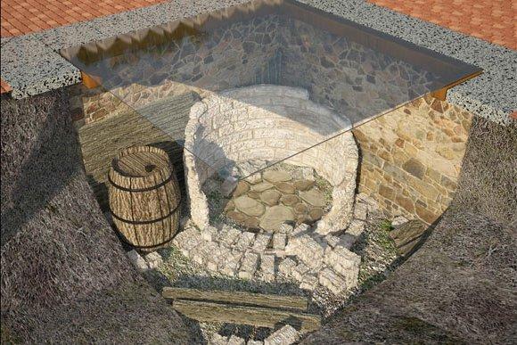 Визуализация археологической ниши