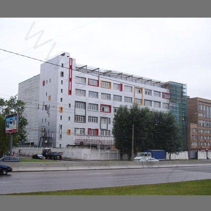 Реконструкция фасадов офисного здания на Алтуфьевском шоссе - Фотография реализованного объекта