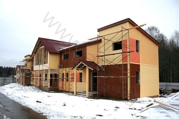 Строительство гостиницы в КСК Эквиторус, вид 1