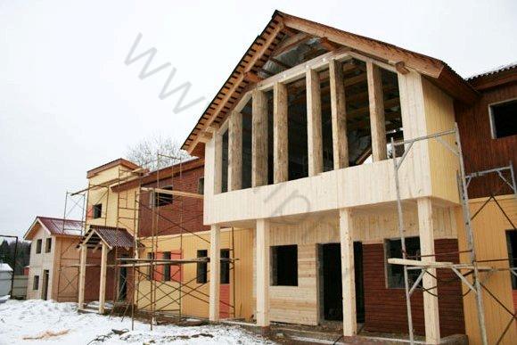 Строительство гостиницы в КСК Эквиторус, вид 2