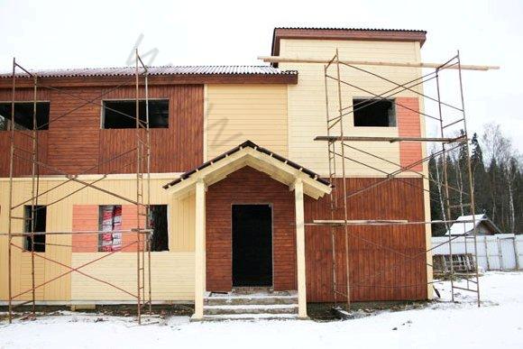 Строительство гостиницы в КСК Эквиторус, вид 3