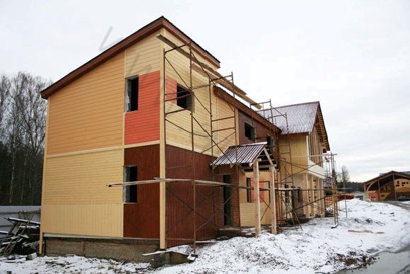 Строительство гостиницы в КСК Эквиторус, вид 4