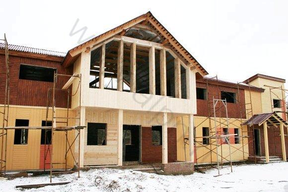 Строительство гостиницы в КСК Эквиторус, вид 5