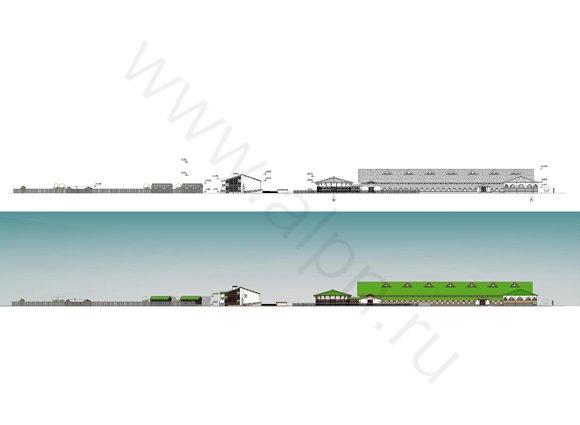 Схема организации улично-дорожной сети и движения транспорта.  Другие изображения с этой страницы.