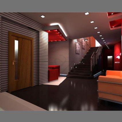 Визуализация интерьера офиса BIGFOOT, вид 1