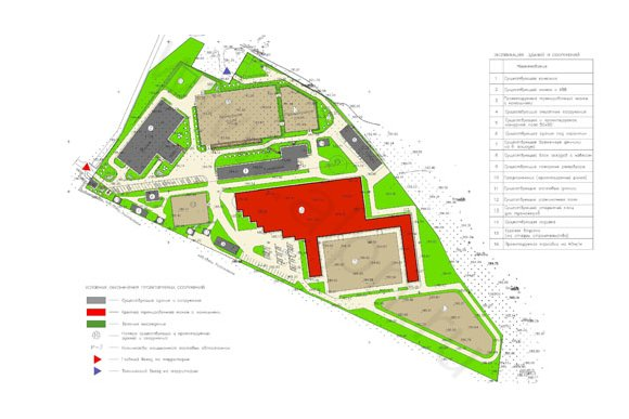 Генеральный план КФХ КСК Пегас, 2-я очередь строительства, эскизное предложение