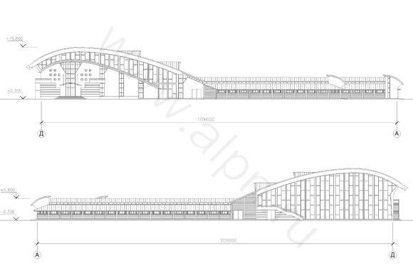 Фасады конноспортивного комплекса КФХ КСК Пегас