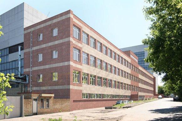 Фотомонтаж здания административного назначения