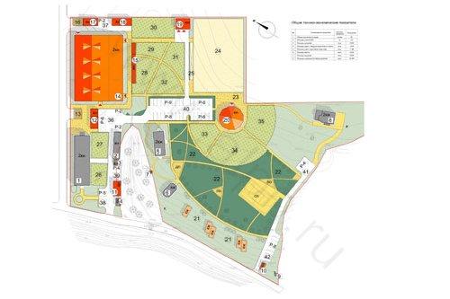 Генплан застройки территории КСК Караван (эскизное предложение)